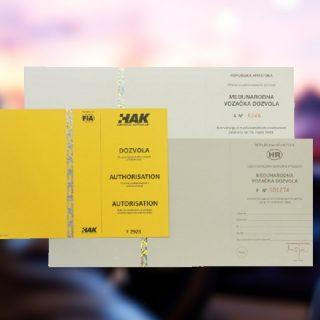 Novosti pri izdavanju međunarodnih vozačkih dozvola