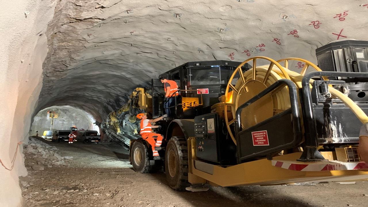 Napad na novu cijev tunela Učka: napreduje se 5 do 10 metara dnevno