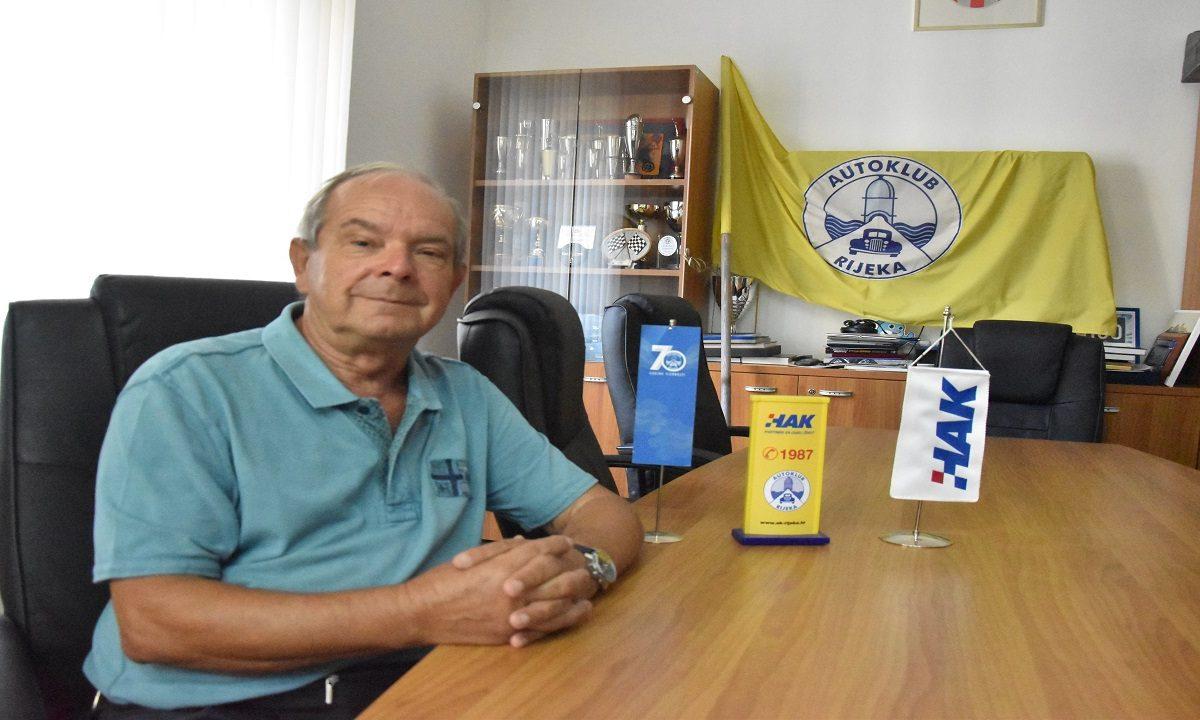Dr. Marijan Ćurković 30 je godina predsjednik Autokluba Rijeka: ponosni smo na naš odnos s vozačima